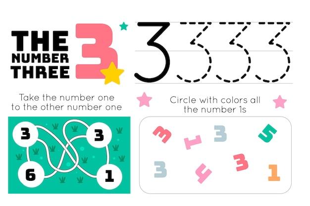 Planilha número 3 com labirinto