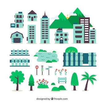 Plano da cidade mapa criador