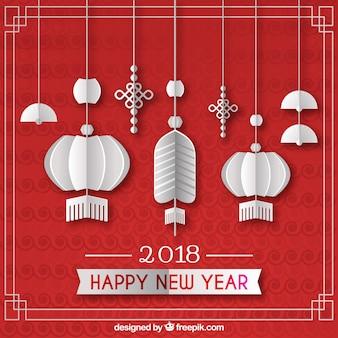 Plano de ano novo chinês