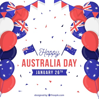 Plano de dia da austrália