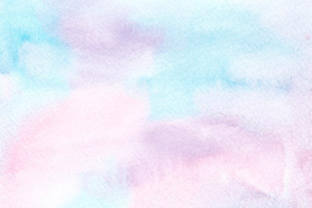 Plano de fundo colorido unicórnio aquarela. fundo do arco-íris