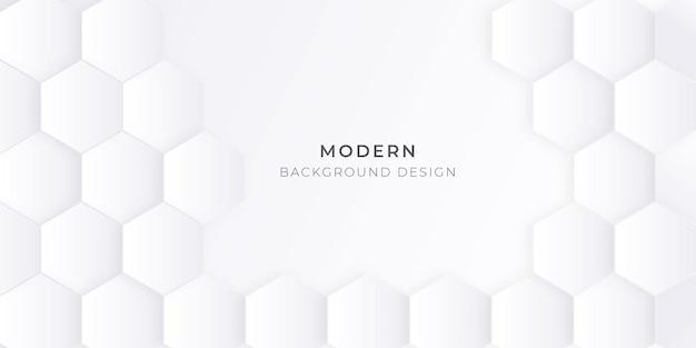 Plano de fundo com design de padrão hexagonal