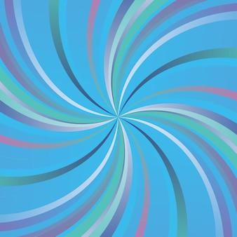 Plano de fundo com estilo retrô com design espiral