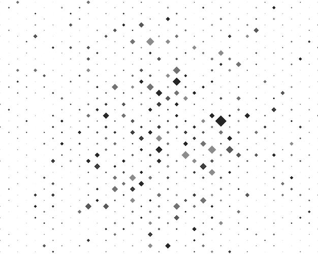 Plano de fundo com losangos em preto e branco e cinza de diferentes tamanhos e tons