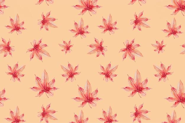 Plano de fundo com padrão floral japonês, remix de obras de arte de megata morikaga