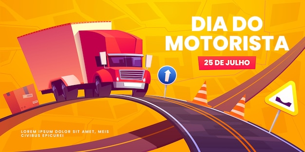 Plano de fundo de dia para motoristas