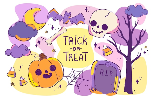 Plano de fundo de halloween
