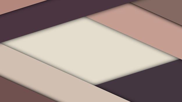 Plano de fundo de material design moderno de folhas de papel com sombras