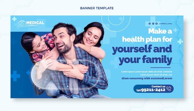 Plano de fundo de vendas médicas