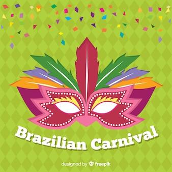 Plano de fundo do carnaval brasileiro