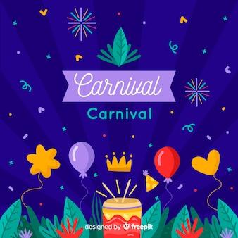 Plano de fundo do carnaval