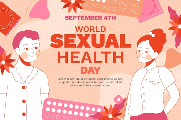 Plano de fundo do dia mundial da saúde sexual