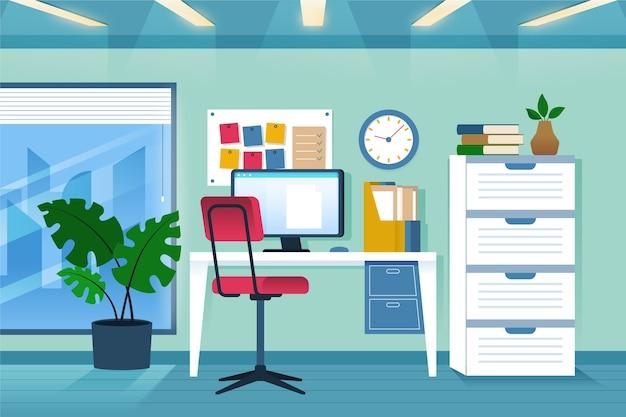 Plano de fundo do escritório