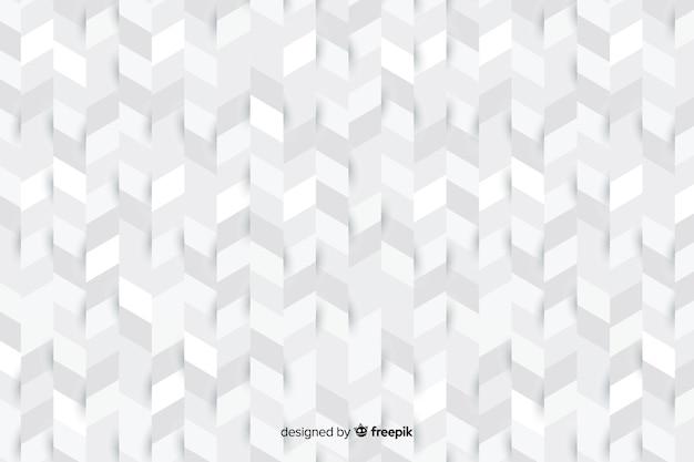 Plano de fundo em estilo de papel cheio de formas geométricas