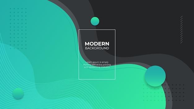 Plano de fundo gradiente fluido tosca moderno com formas curvas