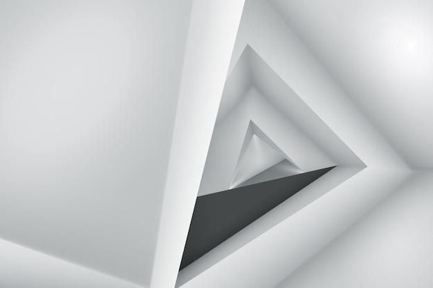Plano de fundo minimalista original com paredes e efeitos de luz sutis
