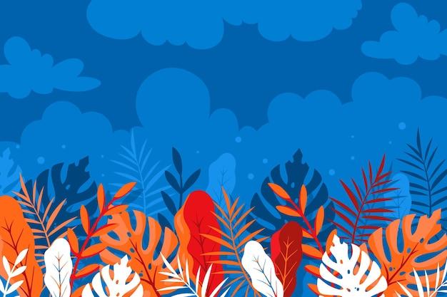 Plano de fundo multicolorido de verão