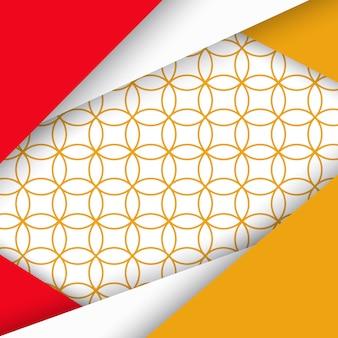 Plano de fundo padrão colorido