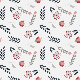 Plano de fundo padrão floral orgânico abstrato. ilustração vetorial.