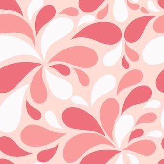 Plano de fundo padrão floral sem costura para casamento e aniversário. vec