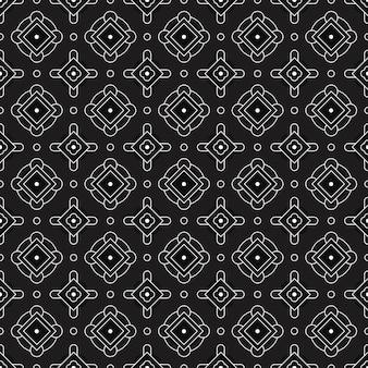 Plano de fundo padrão geométrico moderno sem costura. papel de parede batik clássico.