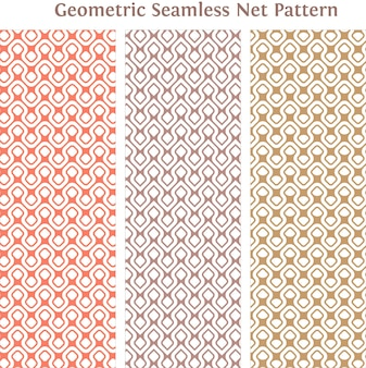 Plano de fundo padrão geométrico sem costura net e textura