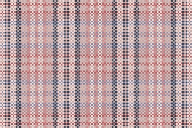 Plano de fundo padrão quadriculado sem emenda. textura de tecido. ilustração vetorial.
