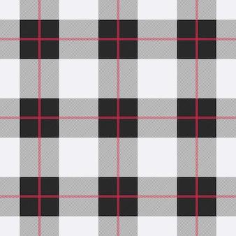 Plano de fundo padrão sem emenda xadrez cinza