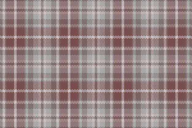 Plano de fundo padrão xadrez tartan sem emenda. textura têxtil. ilustração vetorial.