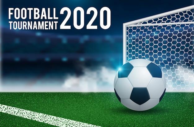 Plano de fundo para o campeonato de futebol