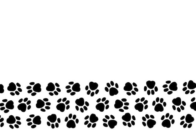 Plano de fundo para salão de cabeleireiro de cachorro loja de estilo e cuidados pessoais para animais de estimação vector