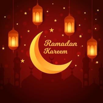 Plano de fundo ramadan kareem