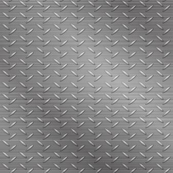 Plano de fundo texturizado cinza brilhante rendilhado de metal sem emenda.