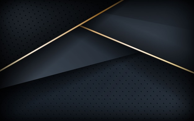 Plano de fundo texturizado realista com linha dourada