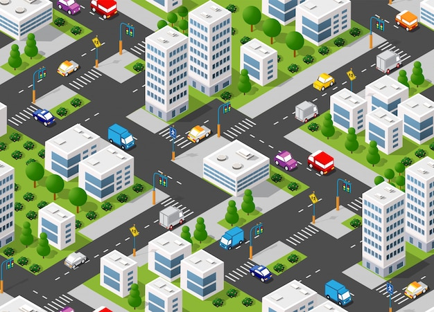 Plano urbano sem emenda