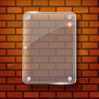 Plano vetorial abstrato na parede branca