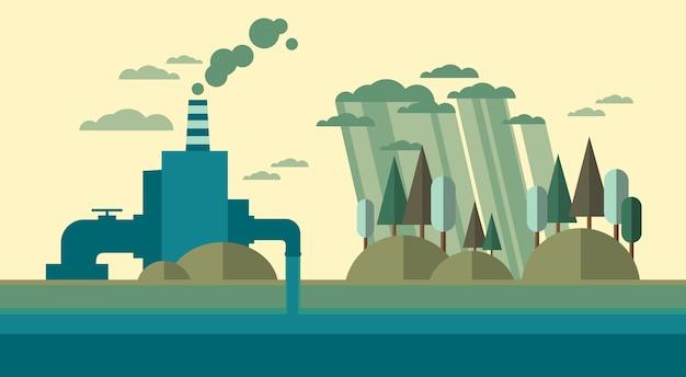 Planta de poluição natural