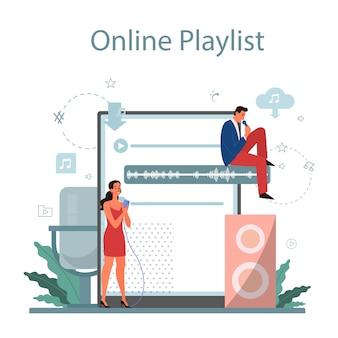 Plataforma e serviço de streaming de música