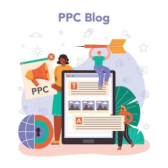 Plataforma ou serviço online especializado em ppc. pay per click manager