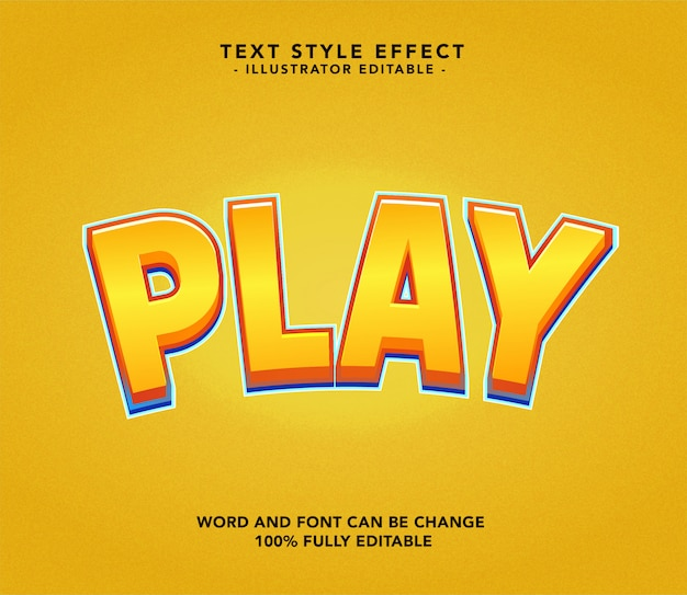 Play font