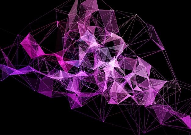 Plexus design moderno, conexões, rede, futurista