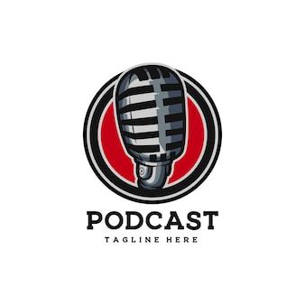 Podcast engraçado rádio mídia microfone online