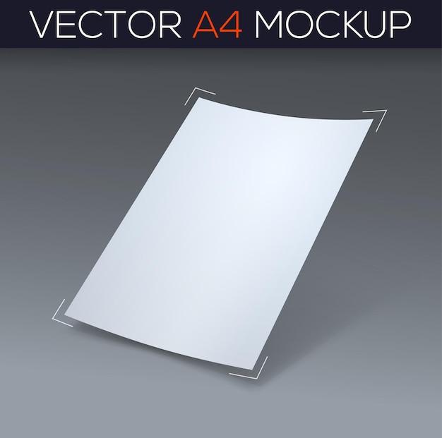 Pode ser usado para revista de design, folheto ou livreto.