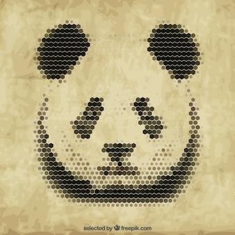 Poligonal panda