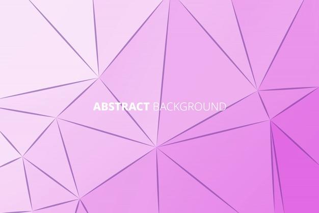 Polígono de vetor abstrato triângulo geométrico poligonal fundo