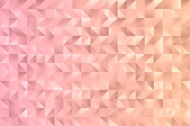 Polígono diamante geométrico abstrato papel de parede moderno vetor