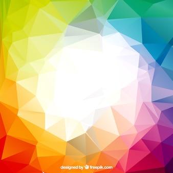 Polígonos coloridos
