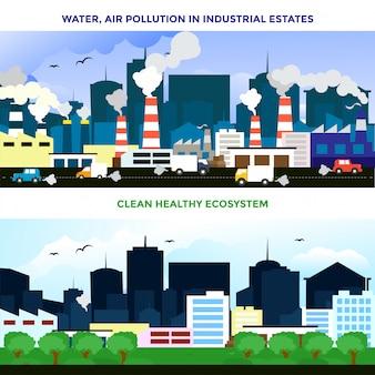 Poluição ambiental e proteção ambiental