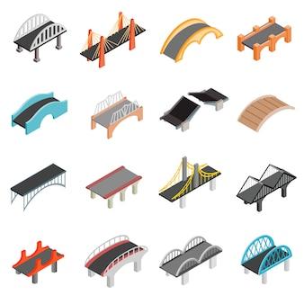 Ponte conjunto de ícones