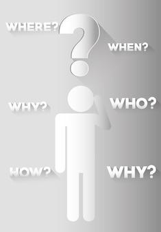 Ponto de interrogação e soluções